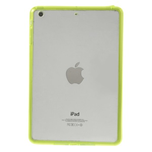 Crystal Clear Acrylic + TPU Hybrid Shell for iPad mini 2 (Retina) / iPad mini - Yellow