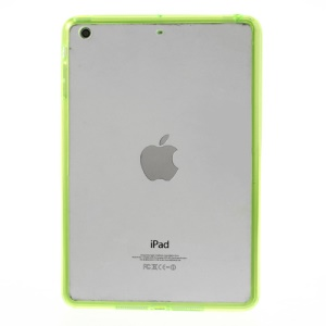 Crystal Clear Acrylic + TPU Combo Case Cover for iPad mini 2 (Retina) / iPad mini - Green