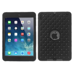 Diamond Starry Sky Silicone & PC Hybrid Protector Case for iPad Mini / iPad Mini 2 - Black