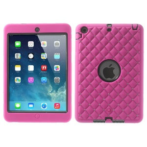 Diamond Starry Sky Silicone & PC Protective Combo Case for iPad Mini / iPad Mini 2 - Rose