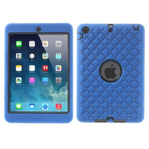 Diamond Starry Sky Silicone & PC Hybrid Protector Shell for iPad Mini / iPad Mini 2 - Deep Blue