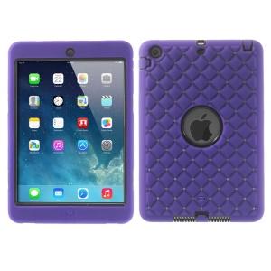 Diamond Starry Sky Silicone & PC Hybrid Protector Case for iPad Mini / iPad Mini 2 - Purple