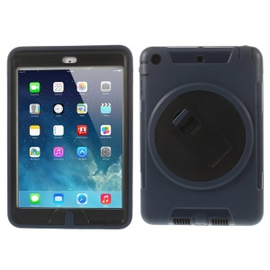Detachable TPU & PC Hybrid Protective Shell w/ Kickstand for iPad Mini / iPad Mini 2 - Dark Blue