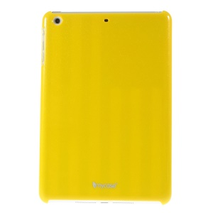 Mycase Glitter Powder Glossy Hard PC Shell for iPad mini 2 / iPad mini - Yellow