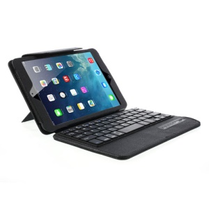 Oracle Grain PU Leather Cover + Detachable Bluetooth Keyboard for iPad Mini 2 with Retina display / iPad Mini