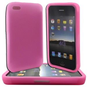 Flexible Silicone Cover Case for iPhone 4