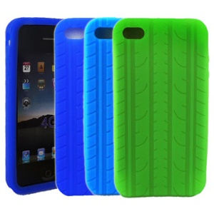 Tyre Silicone Case Cover for iPhone 4