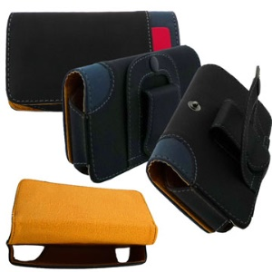 Universal Leather Holster Belt Case for iPhone 4,3g/3gs,and other phones