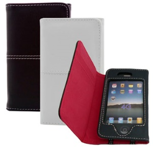 Horizontal Leather Case for iPhone 4 4S (All Versions)