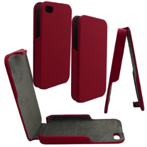 Vertical Leather Case for iPhone 4 4S (All Versions)