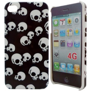 Skull Series Hard Case Cover for Apple iPhone 4