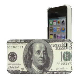 Innovative US Dollar Hard Case Cover for iPhone 4 4G
