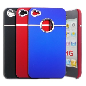 iPhone 4 4G Stylish Electroplating Hard Cover Case