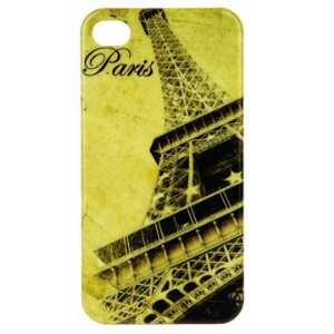Paris Eiffel Tower Hard Plastic Skin Case for iPhone 4 4G