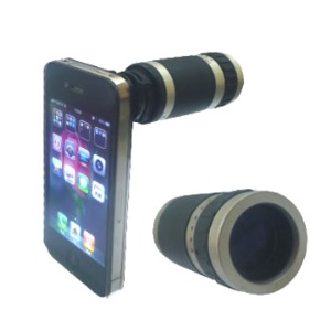 6X Optical Zoom lens Mobile Phone Telescope Camera for iPhone 4 4G