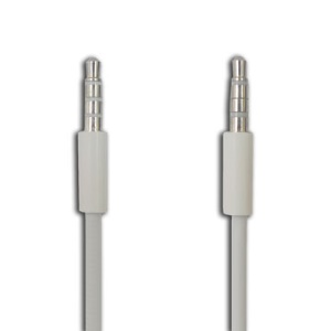 Apple iPhone 4 3.5mm Male to Male Stereo Aux Cable,Length:77cm