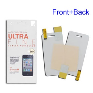 Anti-Fingerprint Matte Screen Protector Guard Film for iPhone 4 4S (All Versions)