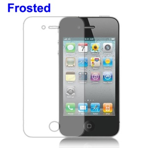 Anti-glare Frosted Screen Protector Guard for iPhone 4 4S