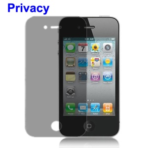 iPhone 4 4S Screen Protector Guard Film (180 Degree Privacy)