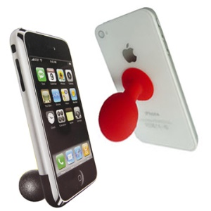 Mini Silicone Ball Stand Holder for iPhone iPod Touch and etc (10pcs in One Package)