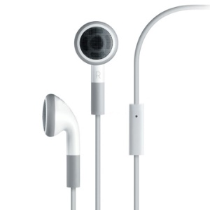 Stereo Headset for iPhone 4G with Mic, Work with 3gs too
