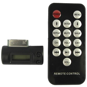 Responsive FM Transmitter &amp; Car Remote Control for iPhone 4 4G