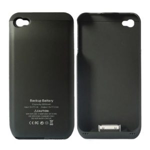 2000mAh Portable Power Pack External Power Pack for Apple iPhone 4G w/ LED Indicator