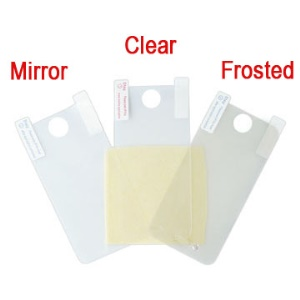 3 in 1 Screen Protector Guard Film Set Kit for iPhone 4 4S (Clear, Frosted, Mirror)
