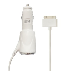 Car Charger for The New iPad, iPad 2,iPad, iPhone3G/3GS/4/4S,iPod Touch/Classic/Nano/Mini
