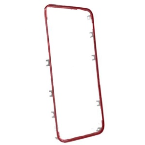 Red Middle Digitizer Frame Bezel for iPhone 4 Repair