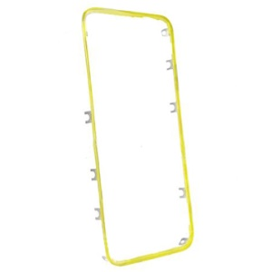Yellow Middle Touch Screen Digitizer Bezel Frame for iPhone 4 4G