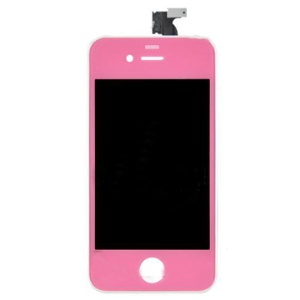 Pink iPhone 4 LCD Touch Screen Middle Bezel Assembly Parts