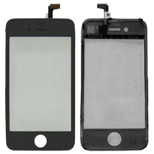 Original iPhone 4 Touch Screen Digitizer with Chassis Frame (Black color),Only for professional buyer,No warranty