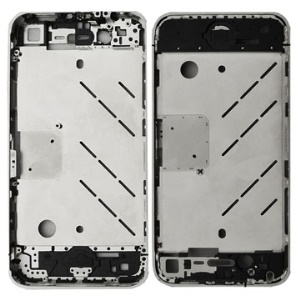 Original iPhone 4 Chrome Bezel Frame with Middle Plate Board