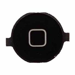 Black iPhone 4 Plastic Home Button Key
