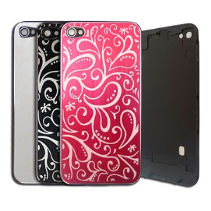 Lvy Pattern Back Housing Cover for iPhone 4 4G