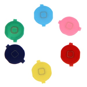 Colorful iPhone 4 Home Button Key Replacement