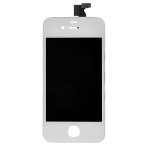 White Touch Screen LCD Assembly Replacement for iPhone 4 CDMA