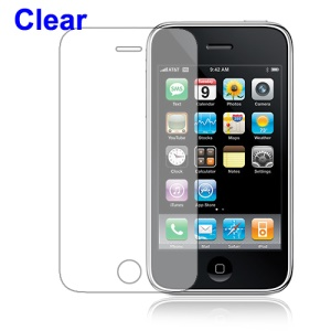 Clear Screen Protector Guard for iPhone 3GS/3G