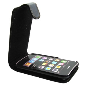 Top Open iPhone 3G &amp; iPhone 3GS Leather Case