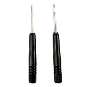 One-line and Cross/Philips Screwdrivers for iPhone 3G(S),2G,iPod,PSP,NDS Lite etc