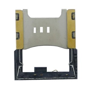 Metal SIM Card Slot Holder Frame Sleeve for iPhone 3G