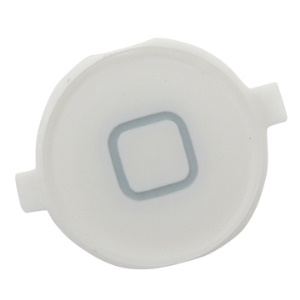 White Plastic Home Button Repair for iPhone 3G (also for 3GS)