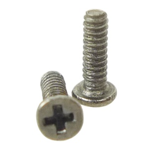 Dock Bottom Connector Cross/Philips Screws for iPhone 3G (20PCS)