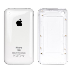 iPhone 3G 8GB Back Cover Housing Replacement - White