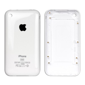 iPhone 3G 16GB Back Cover Housing Replacement - White