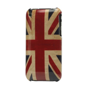 Retro Union Jack Flag Hard Plastic Case for iPhone 3GS/3G
