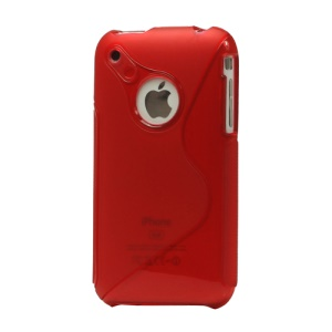 S Curve TPU Cover Case for iPhone 3G/3GS