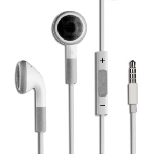 3.5mm In-Ear Earphone Headphone with Remote and Mic for iPhone 3G 3GS 4