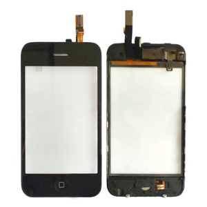 iPhone 3GS Touch Screen Digitizer w/ Chassis Home Button Assembly Unit